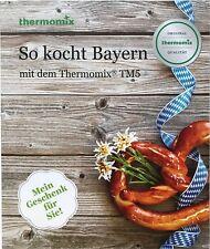 Kochbuch Vorwerk THERMOMIX SO KOCHT BAYERN  Buch Rezepte bayrisch TM5 sk24