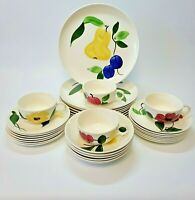 Vintage Stetson RIO Hand Painted Dinnerware 31 pc Set