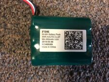 3.6V Battery Pack 900mAh Rechargeable Battery NI-MH  Trusted FDK Brand