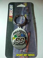 "Nascar Dale Jarrett  ""88""  Key Rings NEW"