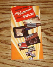 1941 Ford Car Accessories Sales Brochure 41