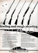 Gunmark KESTREL LAMBER MAGNUM BERETTA SHOTGUN ADVERT 1984 Advertisement