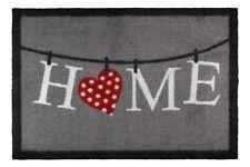 Groundsman Indoor Patterned Grey Door Mat Home 50x75 Heart Love Mrs Hinch