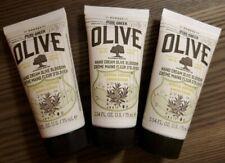 3 X Korres Hand Cream Olive Blossom Olive Oil Full Size 2.54 oz.