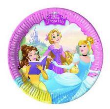 Piatti  Carta  Principesse 19 cm  , Festa Compleanno PS  07777