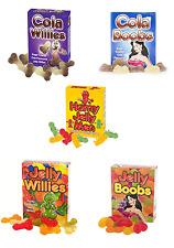 Gelatina de frutas con sabor y cola escalofríos, pechos & Desnudo Hombre Adulto dulces 5 paquetes