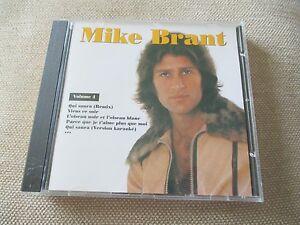 "CD ""MIKE BRANT - VOLUME 4"" 12 titres"