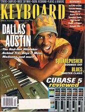 2001 DALLAS AUSTIN, Kawai ES-X Yamaha DX200 AN200 S80 Hot Tips Keyboard Magazine