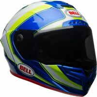 Bell Race Star - Sector White/Fluo/Blue - Medium (M)