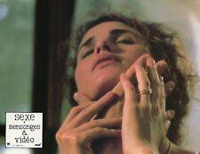 ANDIE McDOWELL SEX, LIES AND VIDEOTAPE 1989 VINTAGE PHOTO LOBBY CARD N°1