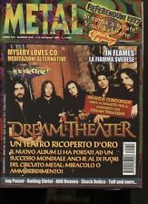METAL SHOCK 250 DREAM THEATER JAG PANZER IN FLAMES ROTTING CHRIST