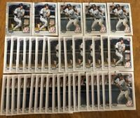 (x40 Lot) Trevor Hauver & Oswald Peraza REFRACTOR (1st Bowman) Chrome Yankees RC