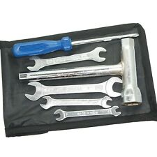 Vespa Complete Hand Tool Kit 6 Piece With Black colour Pouch  CDN