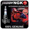 NGK Iridium IX Spark Plug fits YAMAHA YBR125 125cc 05-> [CR6HIX] 7274