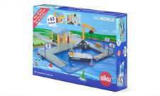 SIKU 5512 World Jetty Pier With Building Crane Boat Sticker Ed