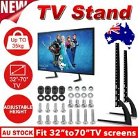 """Universal Table Top TV Stand Legs Mount LED LCD Flat TV Screen 32-70"""" Bracket AU"""