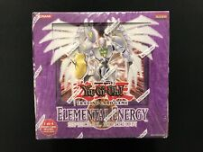 Yugioh! Elemental Energy Special Edition Display Case - Factory Sealed