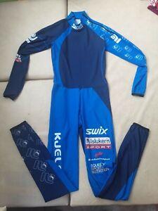 (№ 376) SWIX NORWAY Milslukern S M man ski suit cross-country biatlon