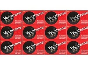 Vocalzone 24 Pastilles x 12 Packs— FAST AND RELIABLE—Sept 2022
