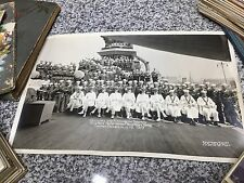 1919 USS New Hampshire Officers & Apprentice Seaman Crew Photo Navy Yard WW1