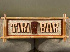 Bamboo Tiki Bar Sign