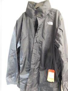 The North Face Men's Resolve Parka Waterproof Jacket TNFBLACK/FOILGR -  2XL