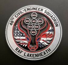 More details for usaf 48th fw f-15 eagle raf lakenheath civil engineer squadron challenge coin