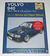 Reparaturanleitung Volvo 940 Limousine + Kombi, Baujahre 1990 - 1998