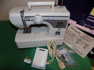E&R Classic model KPN400 21 Stitch Programmes Electric Sewing Machine White