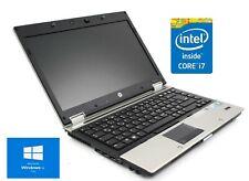 HP EliteBook 2540p I7 procesador 120GB SSD de 8 GB de RAM