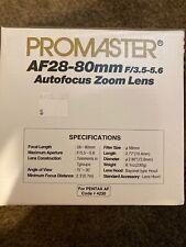 Promaster AF28-80 F/3.5-5.6 Autofocus Zoom Lens For Pentax Code 4230