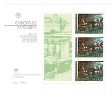 Portugal Madeira 1982 Scott #81A Souvenir Sheet Mnh Fvf Ctlg Value $22.50!