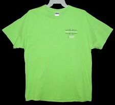 "Sz XL T-Shirt  VALLEY VIEW CASINO ""Happy St Patrick's Day"" Cotton Green GILDAN"