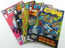 DC COPS (1988-1989) #2 3 4 5 8 VF LOT Ships FREE!