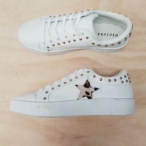 DECJUBA Womens Size EUR 40 / 41 Lola Studded Star Sneakers Shoes