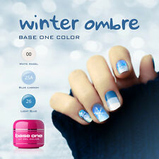 25% OFF! UV Gel Set Winter Ombre Silcare  3pc of 5g