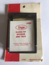 Ungar #400~Kleen-Tip Sponge & Tray~Solder Cleaner~ Brand New In Sealed Package.