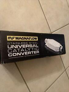 "MAGNAFLOW 53006 2.5"" UNIVERSAL FEDERAL CATALYTIC CONVERTER CERAMIC HONEYCOMB"
