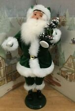Byers Choice one of a kind Irish Santa with Christmas Tree Promo Piece *