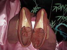 NWB Men's  DEER CRAFT Genuine Deerskin Loafers/Shoes with Shoe Bags 15 M