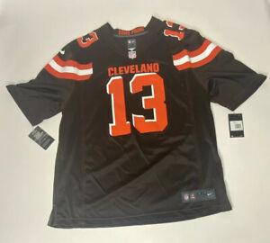 Nike Cleveland Browns Odell Beckham Jr #13 Brown On Field Mens Jersey Sz 2XL NWT