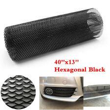 DIY 40x13'' Universal Car Bumper Body  Hood Vent Grille Aluminum Mesh Hexagonal