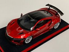 1/18 GT Spirit Honda Acura NSX Liberty walk LB Performance  in Red GT245 Leather