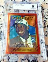 KEVIN GARNETT 1995 Topps Finest #1 Draft Pick Rookie Card RC Coating BGS $ HOF $