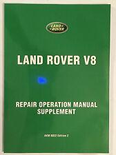 LAND ROVER SERIES 3 3528cc / 215cu in V8 PETROL ENGINE REPAIR OVERHAUL MANUAL