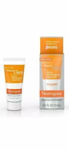 New Neutrogena Rapid Clear Acne Eliminating Spot Gel Salicylic Acid 0.5oz