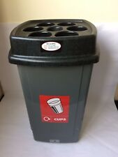 Beca-Bin Disposable Cup Bin Black/Grey