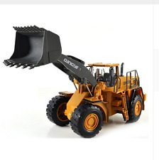 RC Forklift Truck Big 2.4G Large Remote Control Truck Bulldozer Construction Toy