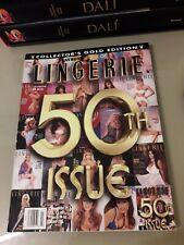 Rivista vintage Playboy book of lingerie july August 1996