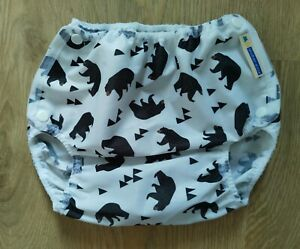NEW XL Motherease Airflow nappy wrap cover - Bear 🐻